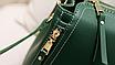 Сумка женская кожаная через плечо Classic Retro, фото 7