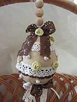 Пасхальное яйцо, подвеска на корзину (ручная работа), 85\75