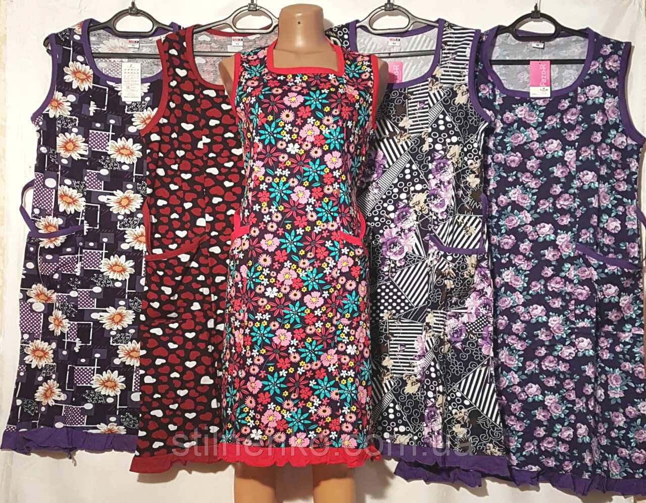 """Жіночий халат - сукня """"Fazo-R"""" без рукава"""