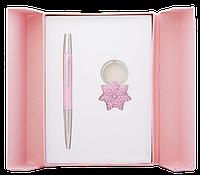 Ручка шариковая LANGRES 122014-10 Star в подарочном футляре и брелок