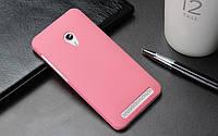 Пластиковый чехол для Asus Zenfone 4 A450CG розовый, фото 1