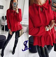 Блузка креп-костюмка, фото 1