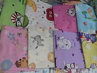 Детские пеленки для новорожденных в роддом бязь разные цвета