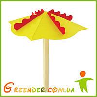 """Зонт деревянный на игровую площадку """"Парасолька"""""""