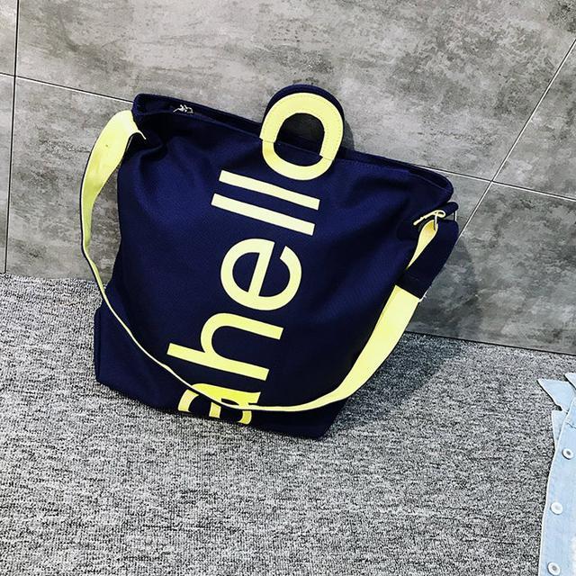 Женская сумка тканевая