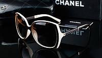 Солнцезащитные очки Chanel 9110 (бежевая оправа)