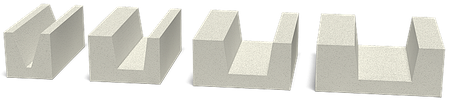 U-блоки (Лотковые блоки) Стоунлайт, фото 2