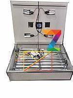 Инкубатор бытовой 'Наседка' на 140 яиц с автоматичеким переворотом с цифровым терморегулятором и вентилятором.