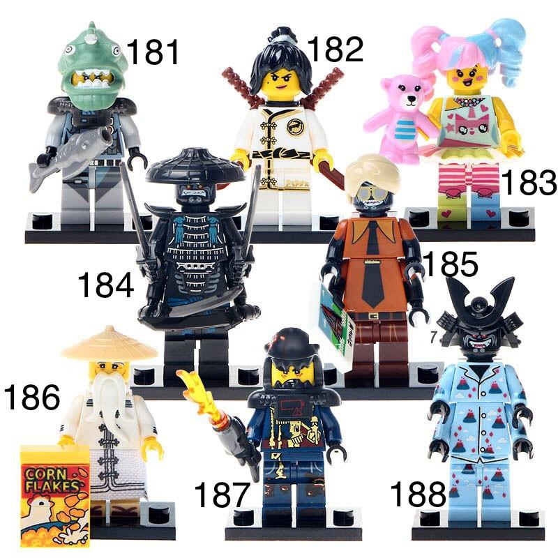 Новые Минифигурки ниндзяго ninjago Лего Lego Гармадон брелок фигурки дяпчики Garmadon