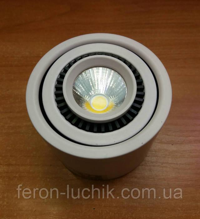 поворотний led світильник Feron AL523 5W 4000K 360Lm