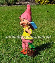 Садовая фигура Гном маляр и Гном с лейкой средние, фото 3