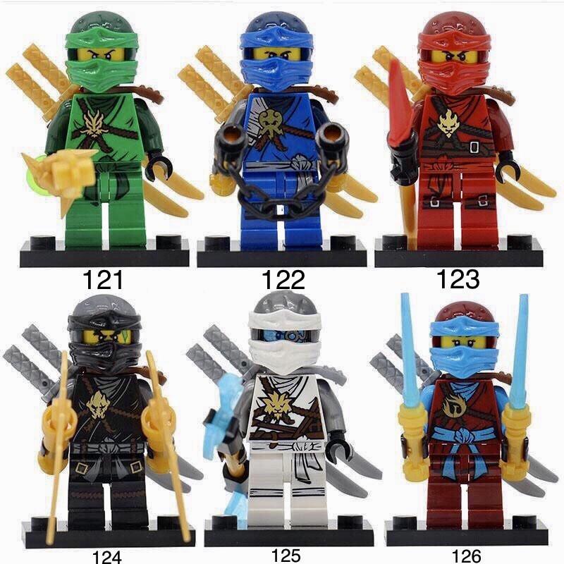Новые Минифигурки ниндзяго ninjago Лего Lego Гармадон брелок фигурки дяпчики Гармадон ниа кай ллойд зейн