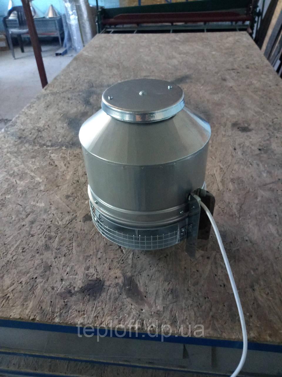 Дымосос для камина, барбекю 1000м3/ч ф150