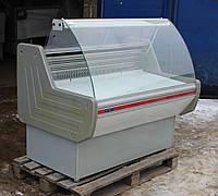 Холодильная витрина охлаждаемая «Технохолод Небраска» 1.3 м. (Украина), хорошее состояние, Б/у , фото 1