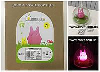 Ночной светильник Totoro (синий,жолтый,розовый,оранжевый)