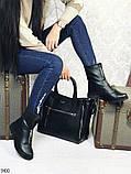 Ботинки женские демисезонные с молнией, фото 2