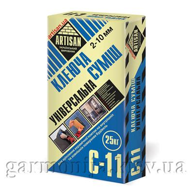 Клей для плитки ARTISAN C-11, 25 кг