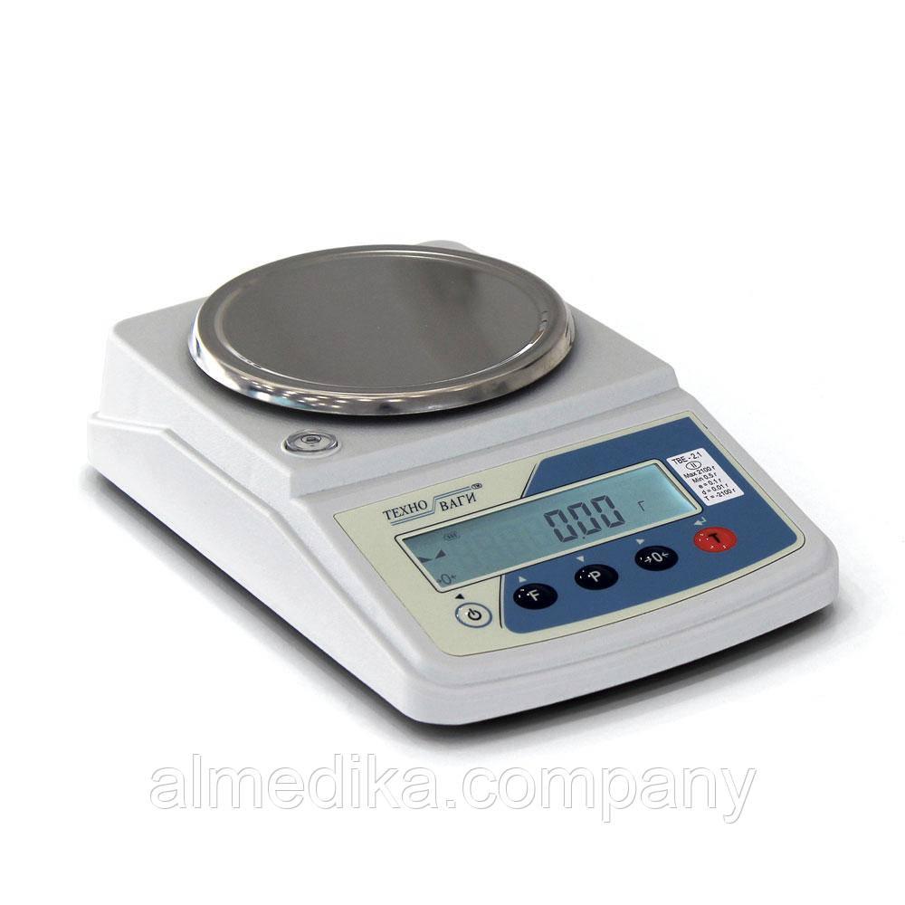 Весы электронные лабораторные ТВЕ —0,6-0,01-а-2