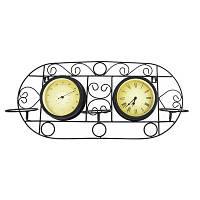 Односторонние садовые часы Adam Garden 052-15F с термометром
