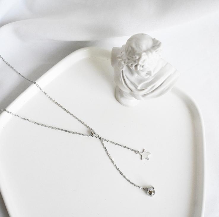 Серебряная подвеска Женская Звездочка