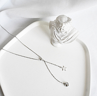 Серебряная подвеска Женская Звездочка, фото 1