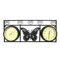 Односторонние садовые часы Adam Garden 078-20F с термометром