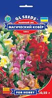 Львиный Зев Магический Ковер с кистевидными соцветиями высотой до 80 см, упаковка 0,25 г