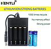 АА пальчиковый KENTLI литий-ионный аккумулятор 3000мАч 1,5В  + зарядное устройство