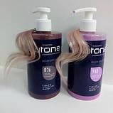 Тонуюча маска для волосся 8/76 (світло-русявий коричнево-фіолетовий) Estel Haute Couture Newtone, 435 мл., фото 3