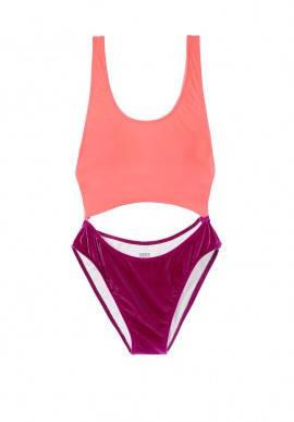 Sale Бархатный купальник-монокини от Victoria Secret. Оригинал 100% 5574df0ccd52c