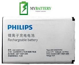 Оригинальный аккумулятор АКБ (Батарея) для Philips W626 / AB1530BDWMC 1530 mAh 3.7V