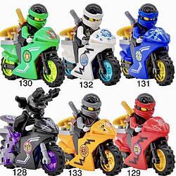 Новые Минифигурки ниндзяго ninjago Лего Lego Гармадон брелок фигурки дяпчики Гармадон на мотоциклах кай зейн