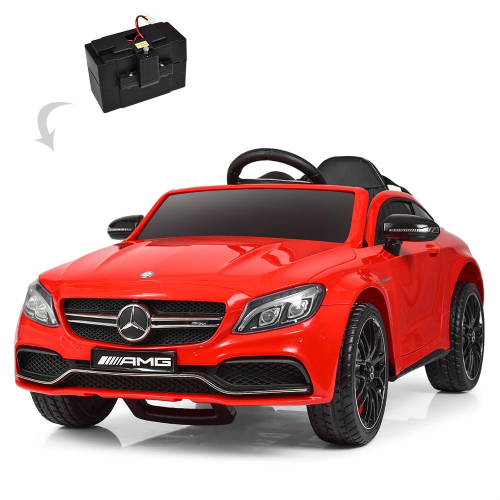 Електромобіль дитячий Mercedes M 4010EBLR-3 червоний Гарантія якості Швидка доставка