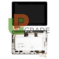 Дисплей для Asus ME302KL MeMO Pad FHD 10 (K005) + тачскрин, черный, с передней панелью