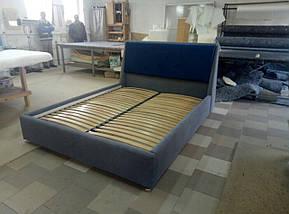 Кровать Люкс Берлин 2 без матраса с подъемным механизмом и  ящиком для белья, фото 2