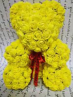 Мишка Тедди жёлтый 25см