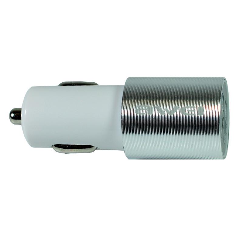 АЗУ Awei C-100 2USB/2,4A White-silver
