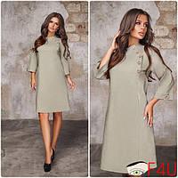 5e15ef22cf7 Оригинальное женское джинсовое платье А-силуэта