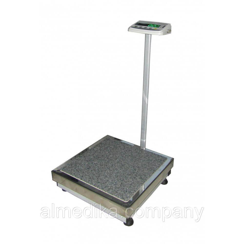Медицинские весы с ростомером ТВЕ1-150-50-(400х400)-12ра-М