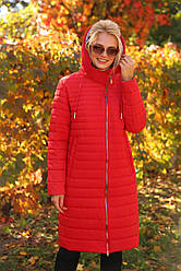 Осенний утепленный плащ большого размера Стефания  Nui Very (Нью вери)