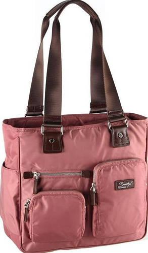 Женская стильная деловая сумка с отделением для нетбука Sumdex NON-701AR розовый