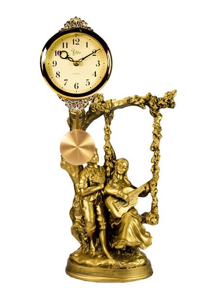 Камінний годинник з маятником Jibo 2140-A