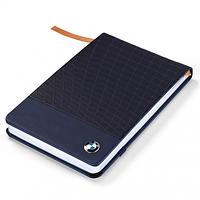 Небольшой блокнот BMW Notebook, Small, Dark Blue (80242454636)