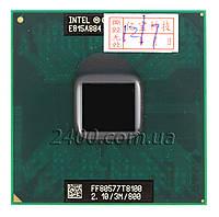 Процессор Intel Core 2 Duo T8100 2.1 GHz Socket P для ноутбука