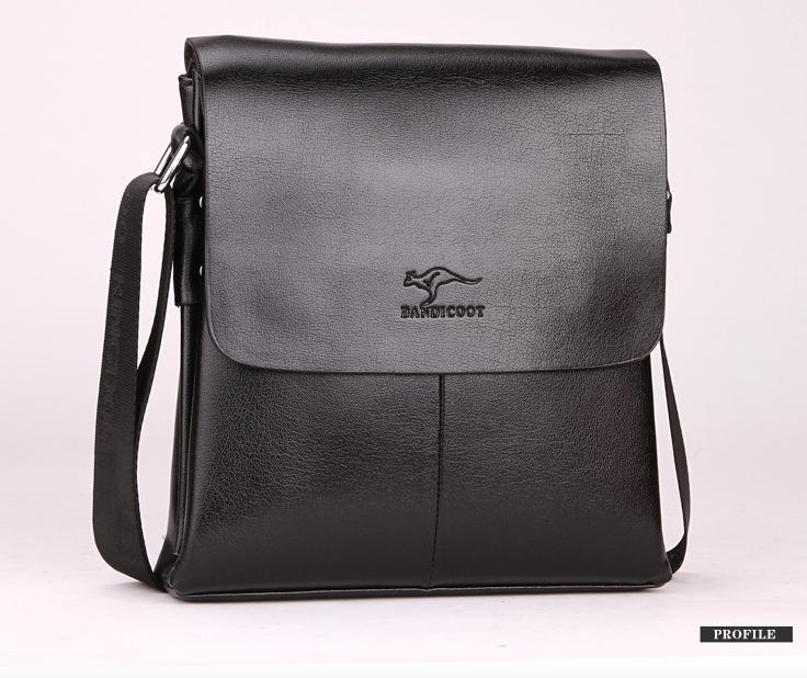 Мужская сумка барсетка Bandicoot Средняя Черный