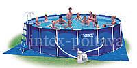 Каркасный бассейн Intex Metal Frame Pool 28252(28752)