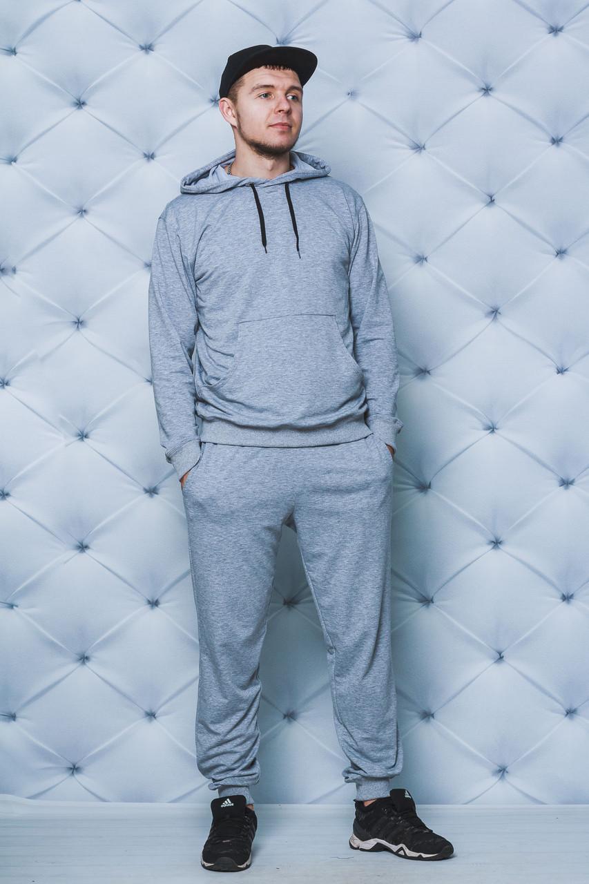 Мужской спортивный костюм с худи фото
