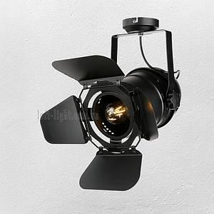 Прожектор потолочный   лофт  52-31 BK