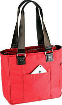 Женская качественная деловая сумка с отделением для нетбука Sumdex NON-701PP красный, фото 2