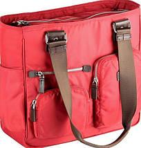 Женская качественная деловая сумка с отделением для нетбука Sumdex NON-701PP красный, фото 3